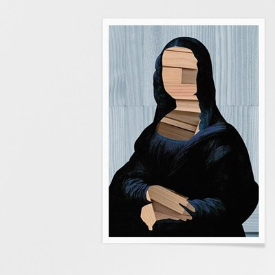 Abstrakte Mona Lisa