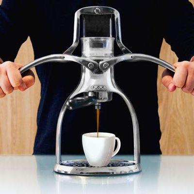 cafetiere kaffeemaschine manuelle und tragbar staresso. Black Bedroom Furniture Sets. Home Design Ideas