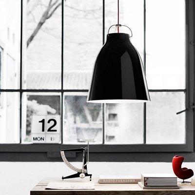 schwarze pendelleuchte purisd. Black Bedroom Furniture Sets. Home Design Ideas