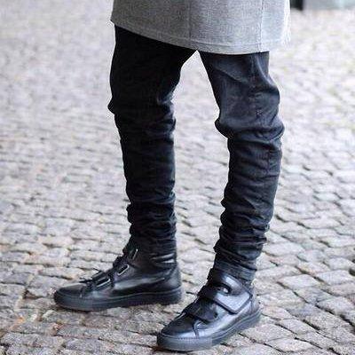 schwarze skinny m nner jeans purisd. Black Bedroom Furniture Sets. Home Design Ideas